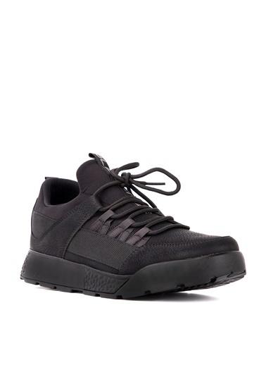 Slazenger Slazenger ZEBER Koşu & Yürüyüş Erkek Ayakkabı  Nubuk Siyah